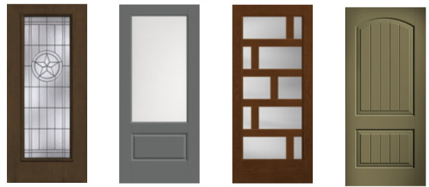 Stylized Front Doors