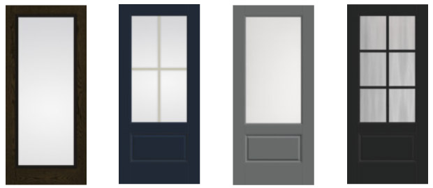 Home Entry Doors with Glass